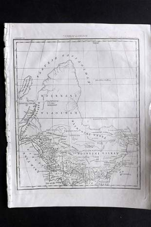 Wilkes, John 1798 Map. Ancient Africa