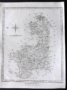 Wilkes, John 1801 Map. Berkshire