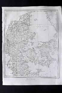 Wilkes, John 1803 Map. Denmark