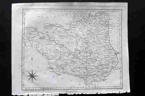 Wilkes, John 1803 Map. Durham