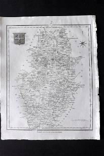 Wilkes, John C1800 Map. Nottinghamshire