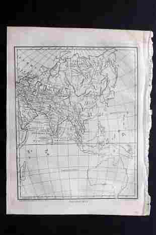 Wilkes, John C1815 Map. Ancient Asia