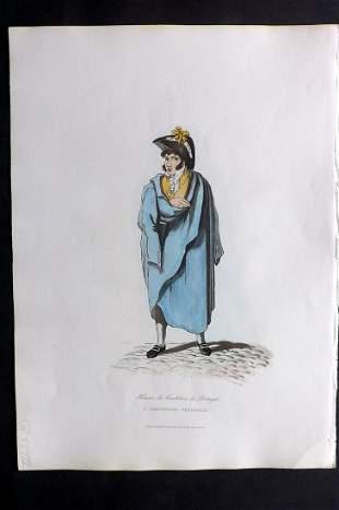 Bradford, William 1809 HC Print. Portugese Gentleman