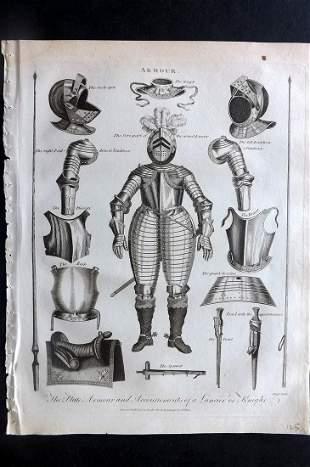 Wilkes, John 1798 Antique Print. Armour