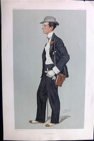 Vanity Fair Print 1904 George Lambton, Turf