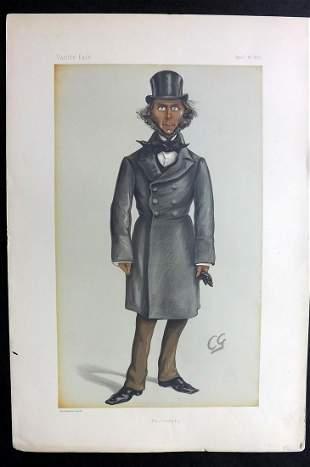 Vanity Fair Print 1873 Herbert Spencer