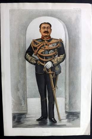 Vanity Fair Print 1901 Maharajah of Cuch Behar, India