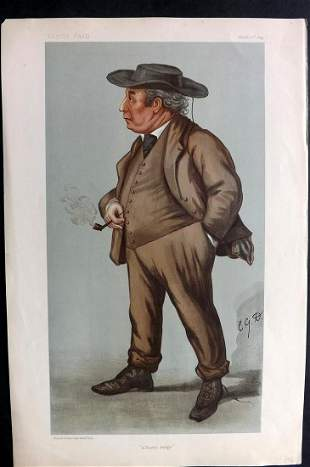 Vanity Fair Print 1899 Lord J Williams, Legal