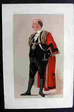 Vanity Fair Print 1890 Joseph Savory, Lord Mayor
