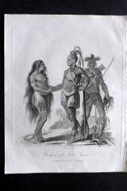 Wilkes, John 1795 Print. Aborigines of North America
