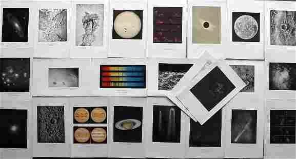 Ball, Robert C1910 Lot of 24 Astronomy Prints.