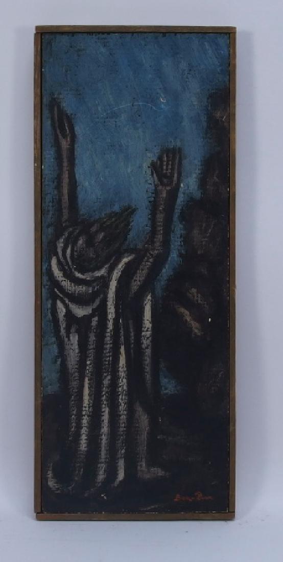 Ben-Zion Weinman Oil Painting of Standing Prophet