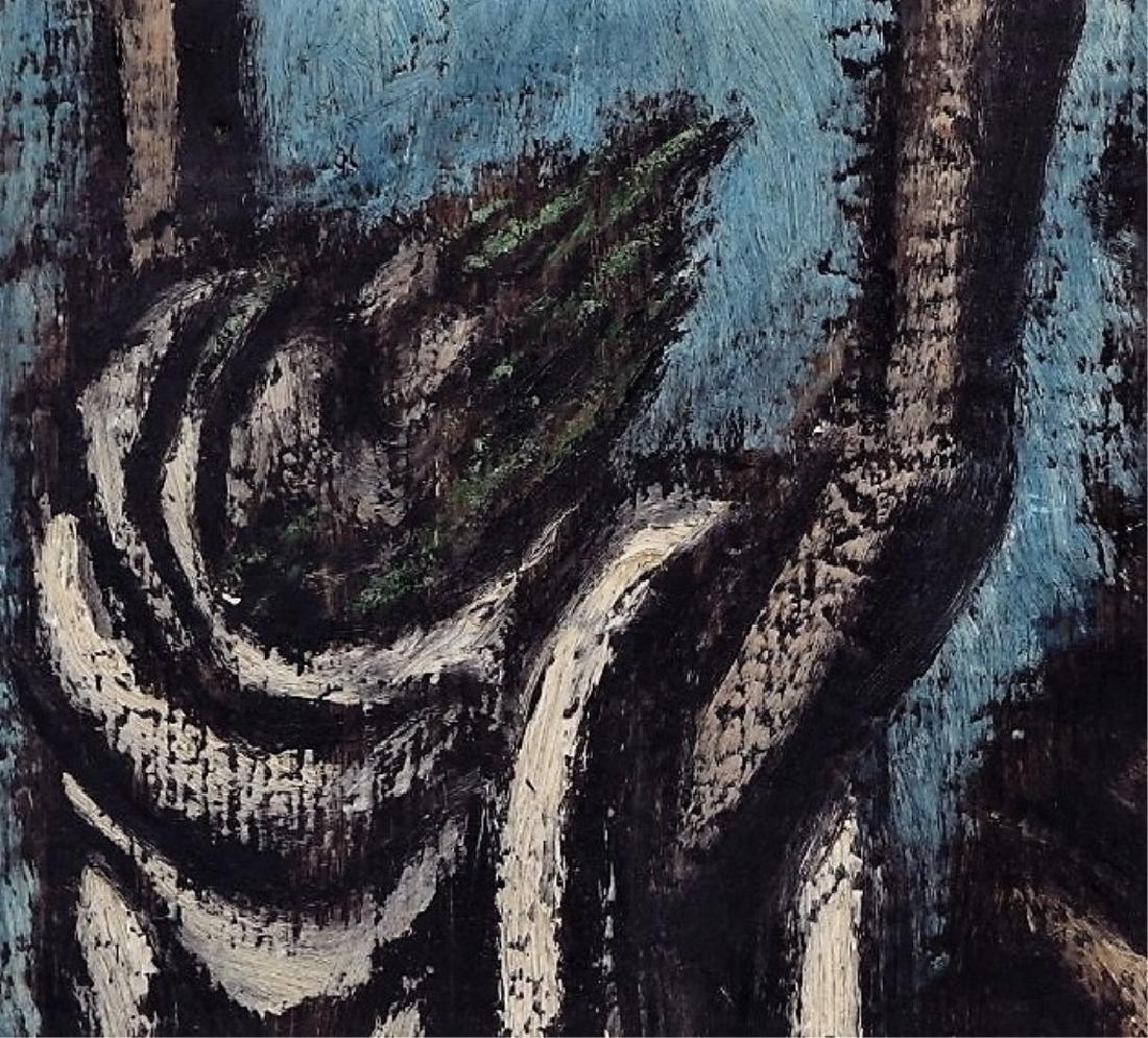 Ben-Zion Weinman Oil Painting of Standing Prophet - 3