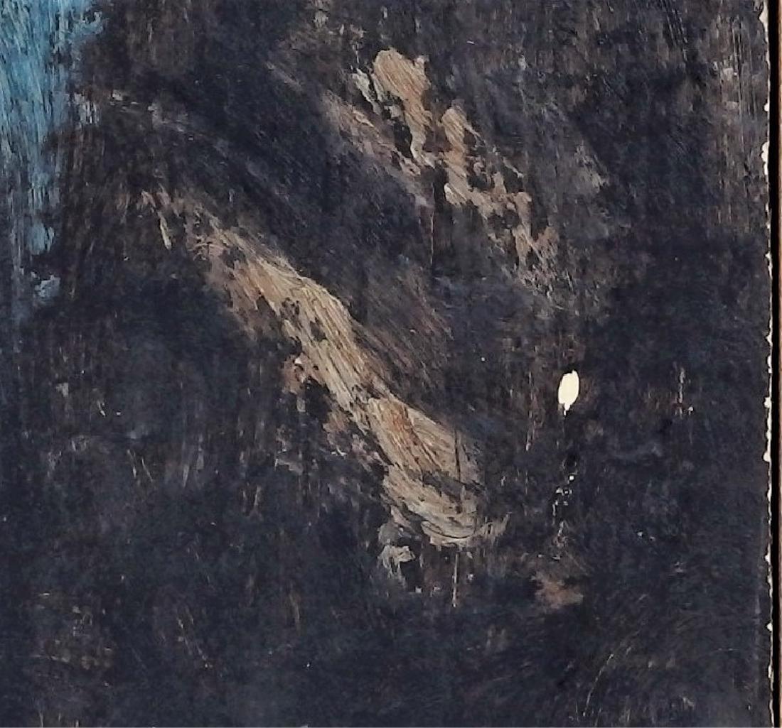 Ben-Zion Weinman Oil Painting of Standing Prophet - 5