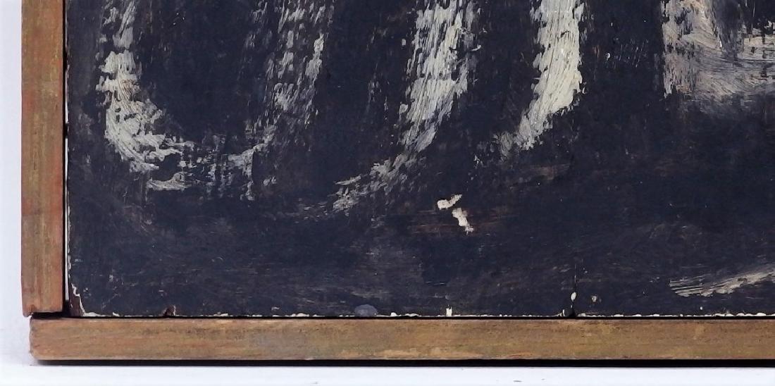 Ben-Zion Weinman Oil Painting of Standing Prophet - 7