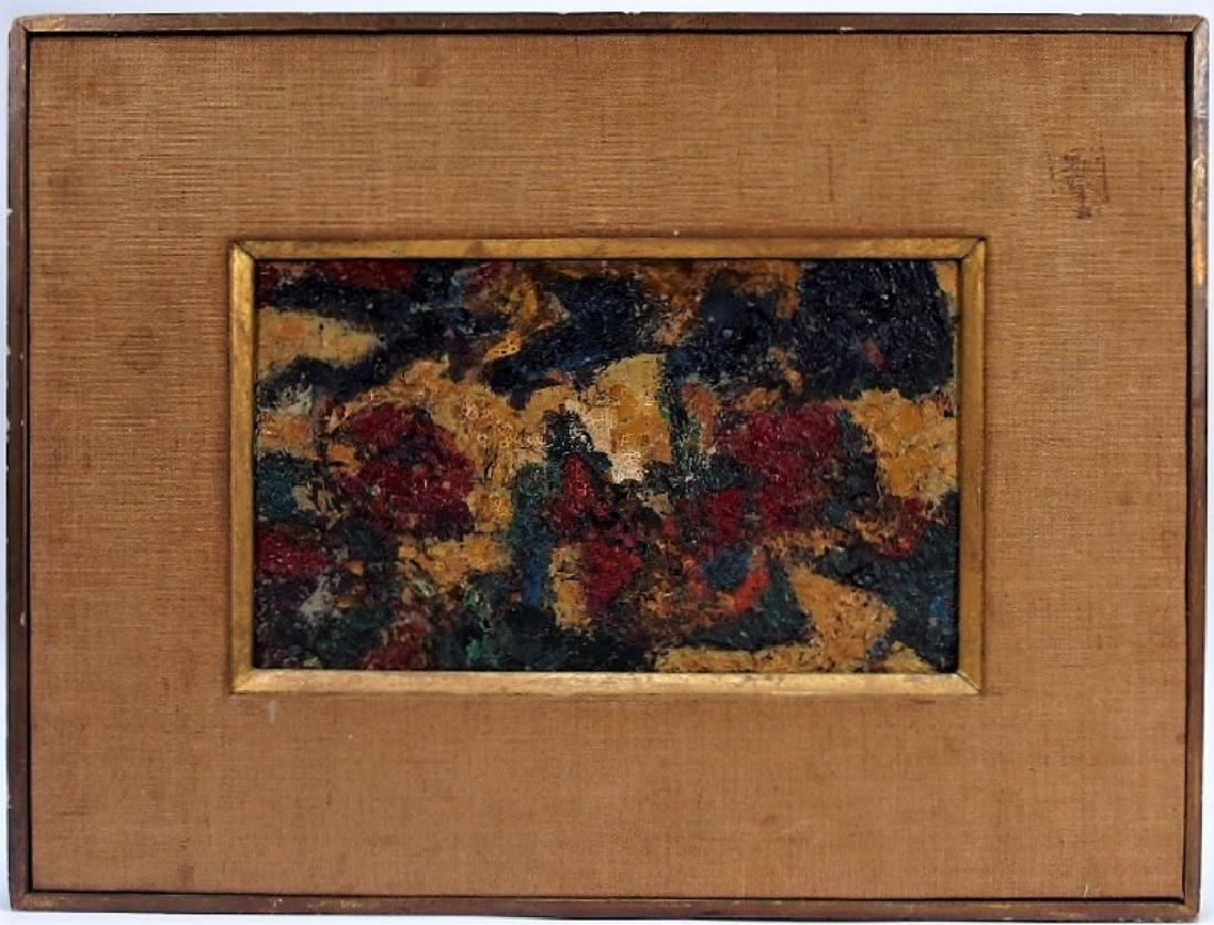 American Abstract Expressionist Textured Painting