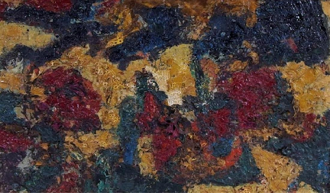 American Abstract Expressionist Textured Painting - 3