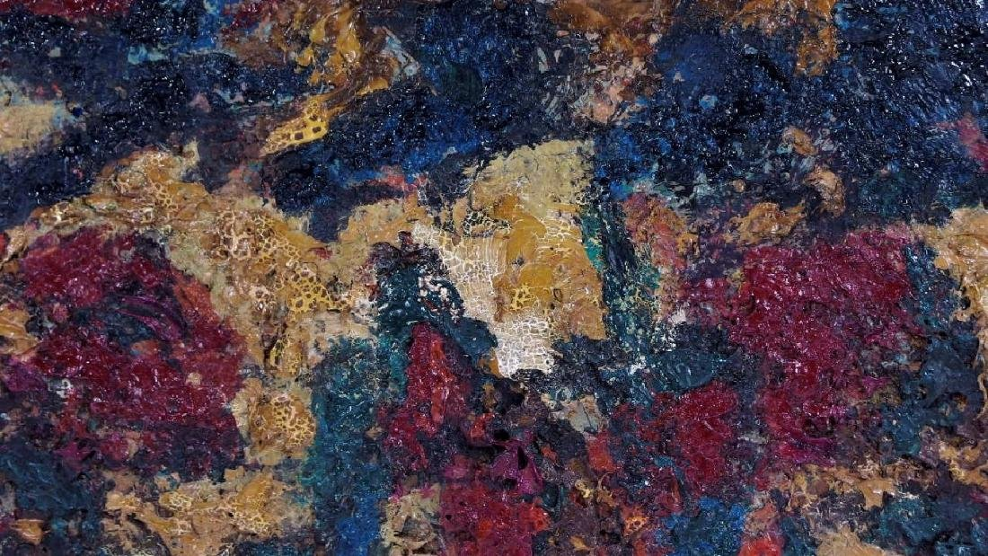 American Abstract Expressionist Textured Painting - 4