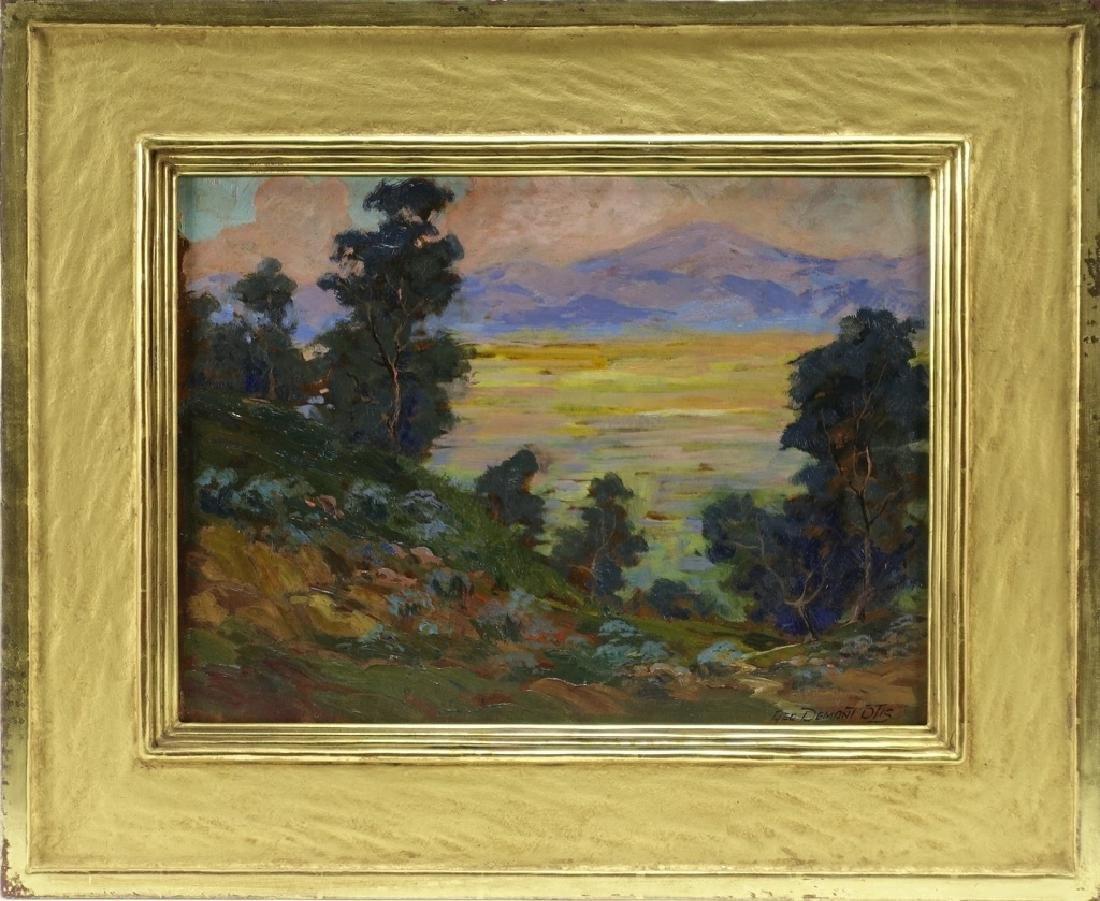 Attrib. George Demont Otis Impressionist Painting