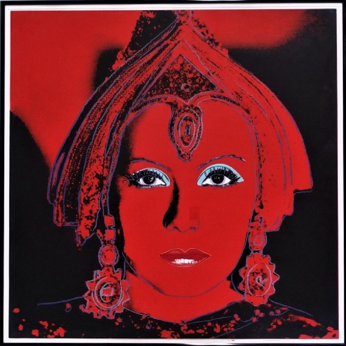 Andy Warhol Myths Portfolio The Star Screenprint