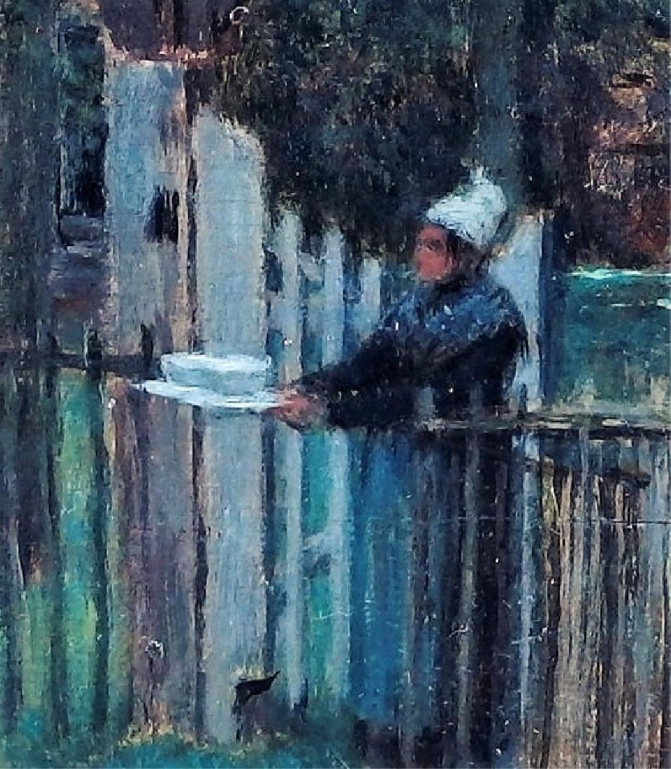 Jean Max Claude Impressionist Equestrian Painting - 3