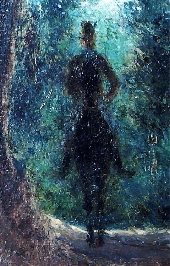 Jean Max Claude Impressionist Equestrian Painting - 4