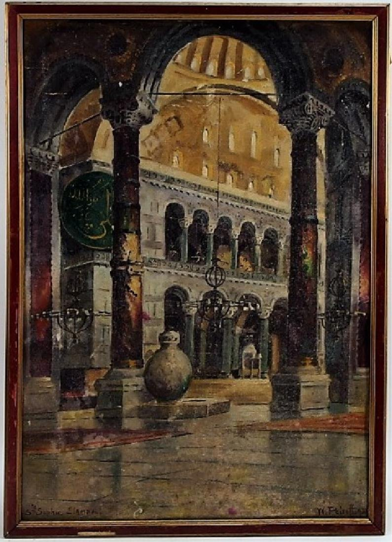 Wladimir Konstanivoch Petroff Painting of Mosque