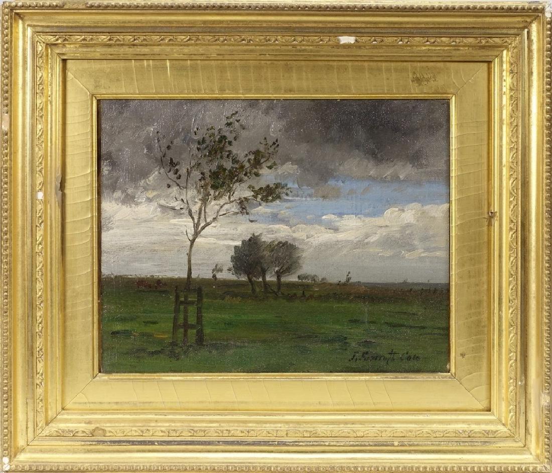 Joseph Foxcroft Cole Barbizon Landscape Painting
