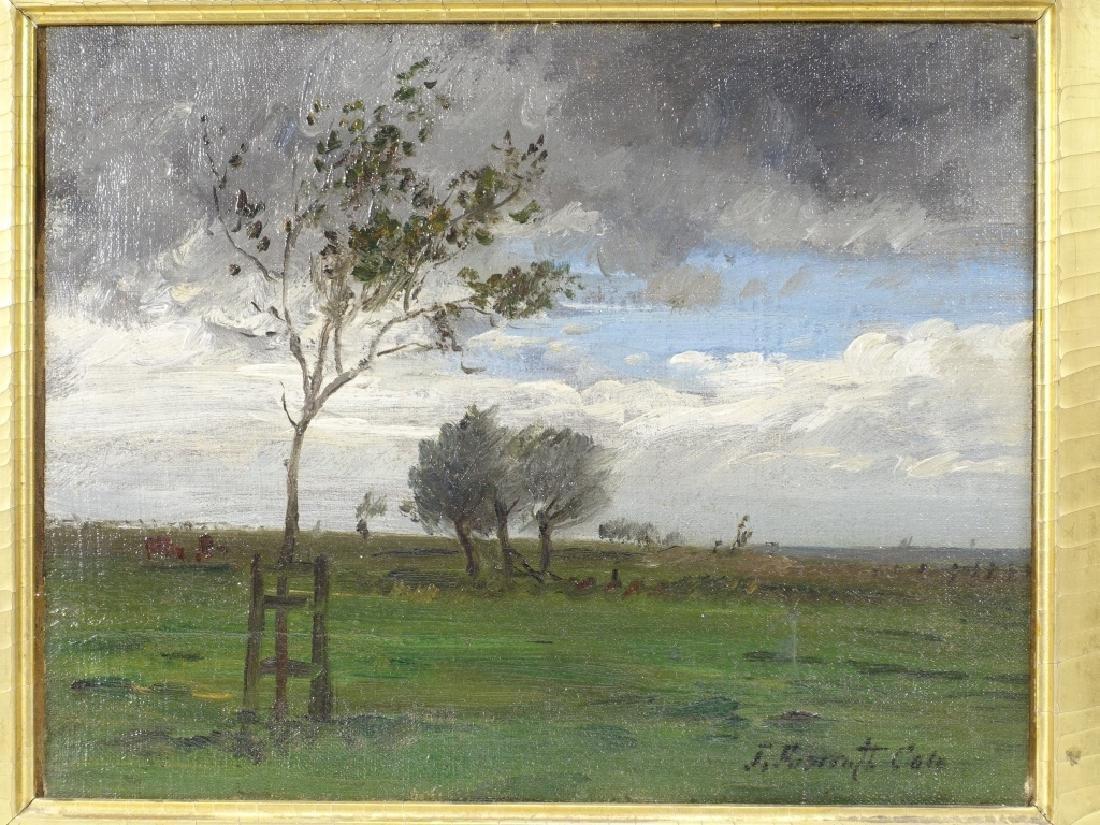 Joseph Foxcroft Cole Barbizon Landscape Painting - 2