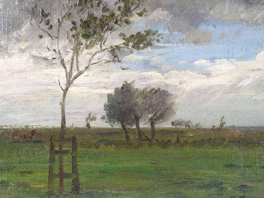 Joseph Foxcroft Cole Barbizon Landscape Painting - 3