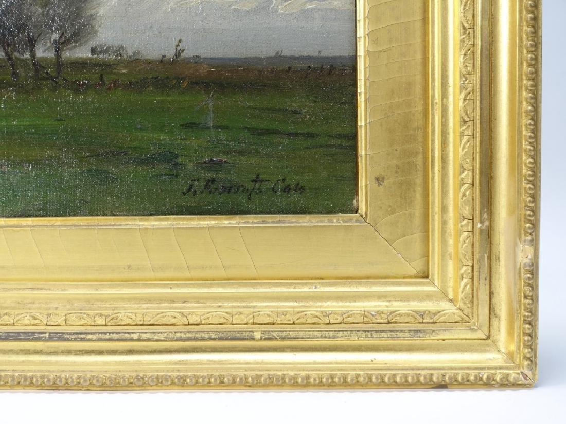Joseph Foxcroft Cole Barbizon Landscape Painting - 4