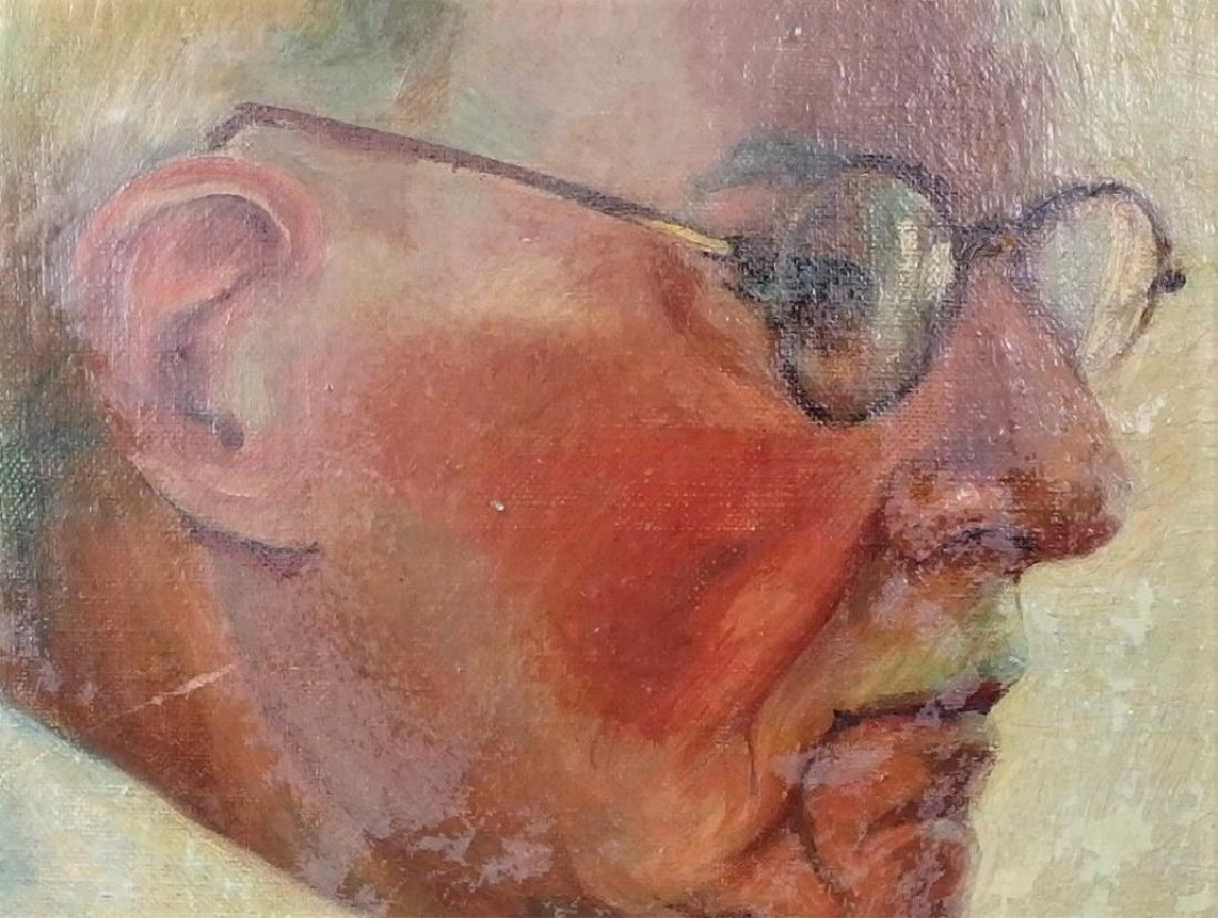 Attrib. Wojciech Weiss Portrait Painting of Man - 2
