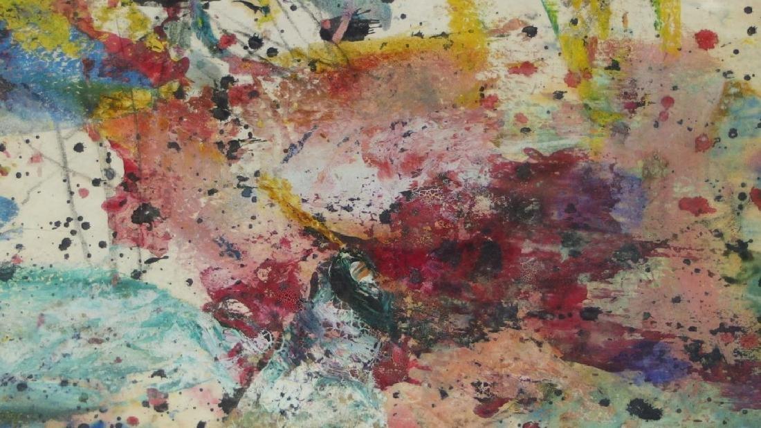Taro Yamamoto WC & Oil Splatter Painting - 2