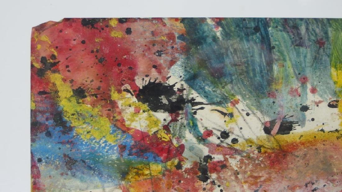 Taro Yamamoto WC & Oil Splatter Painting - 3