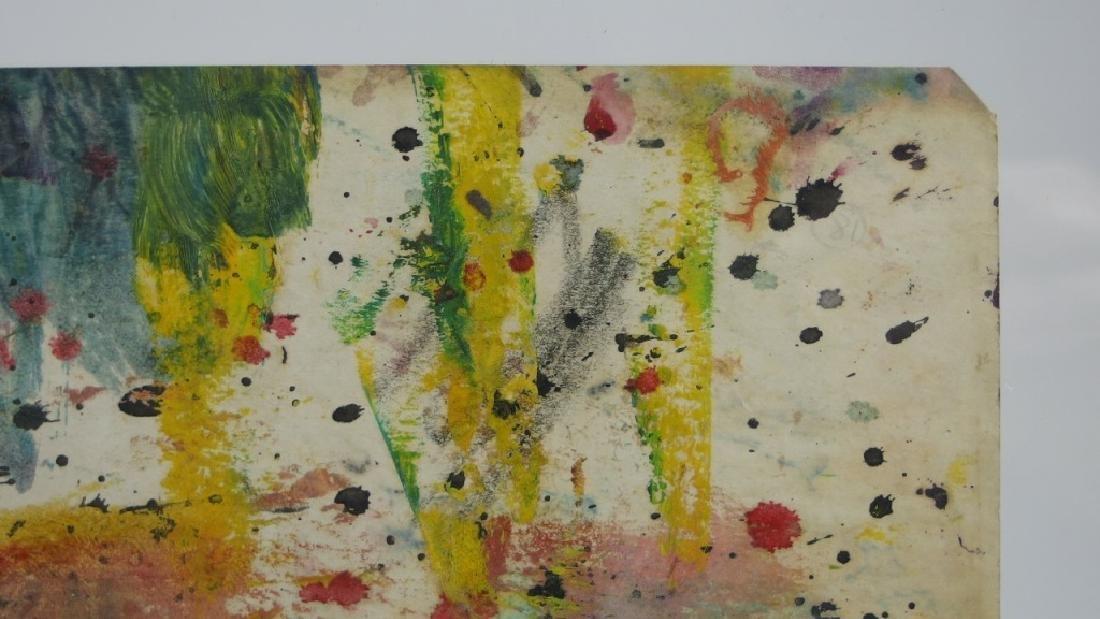 Taro Yamamoto WC & Oil Splatter Painting - 4