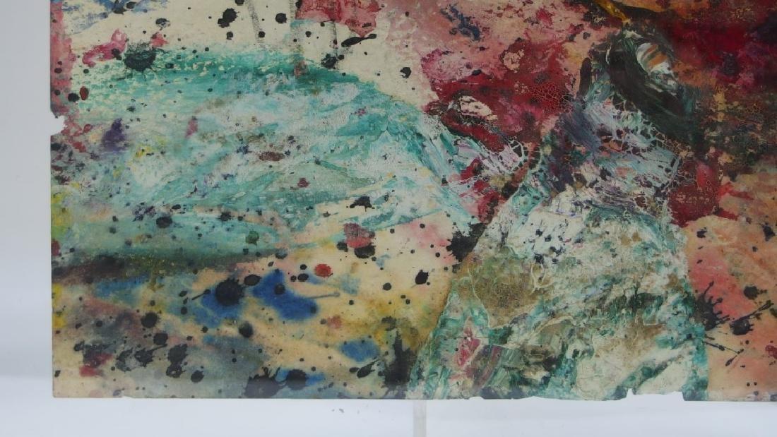 Taro Yamamoto WC & Oil Splatter Painting - 5