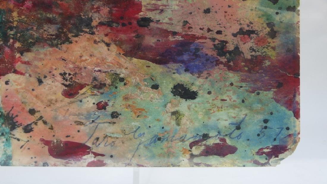 Taro Yamamoto WC & Oil Splatter Painting - 6