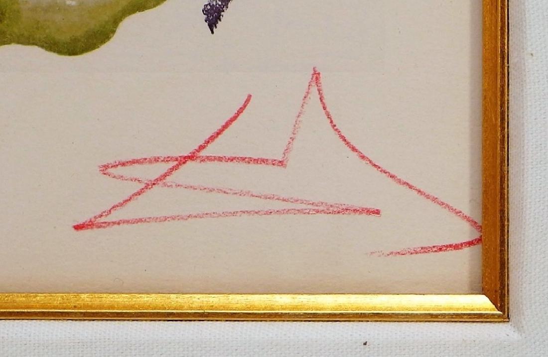 Salvador Dali Canto The Minotaur Woodcut Print - 6