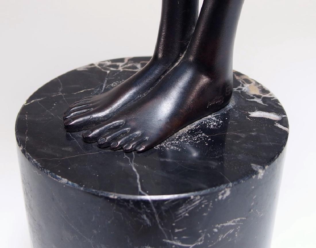 Bruno Bruni Leda Col Cigno Bronze Sculpture - 7