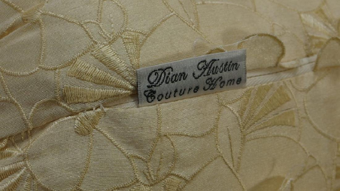 Horchow Dian Austin King Duvet Bed Set - 6