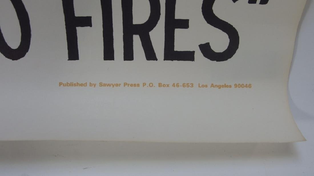 Ron Cobb Uncle Tom Ghetto Fires Poster - 6