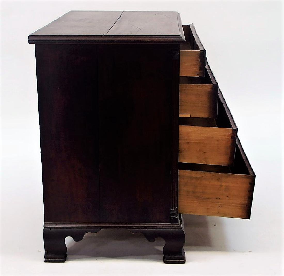18C. New England Graduated Four Drawer Chest - 7