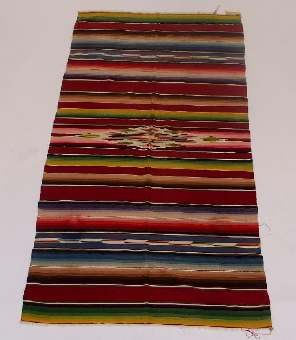 4 Mexican Tribal Geometric Woven Textile - 6