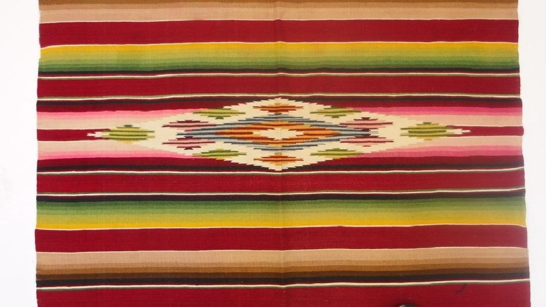 4 Mexican Tribal Geometric Woven Textile - 8