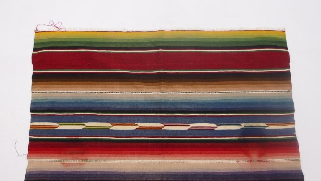 4 Mexican Tribal Geometric Woven Textile - 9