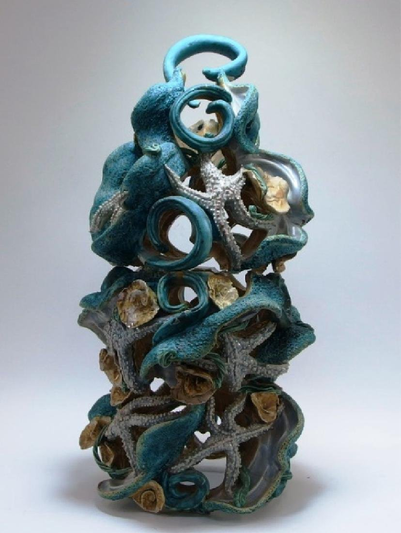 Amy Mayer Star Fish Ceramic Sculpture