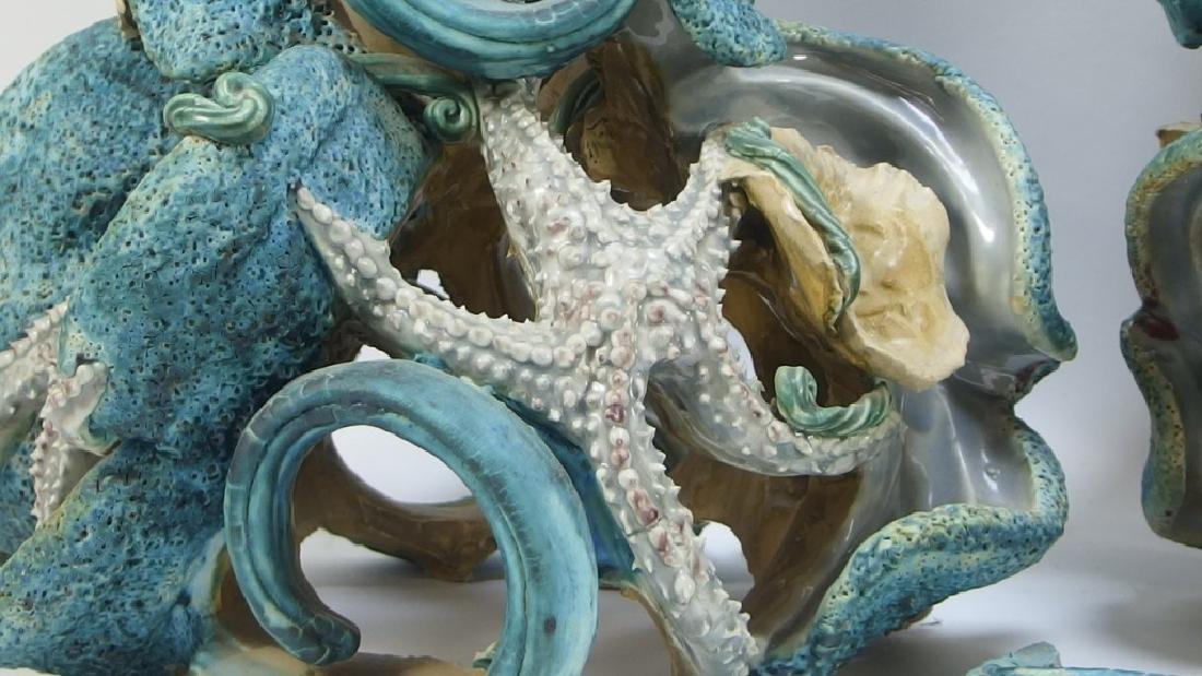 Amy Mayer Star Fish Ceramic Sculpture - 3