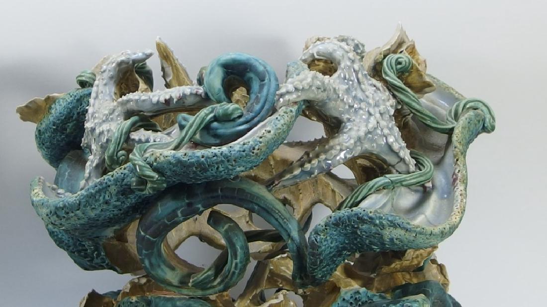 Amy Mayer Star Fish Ceramic Sculpture - 5