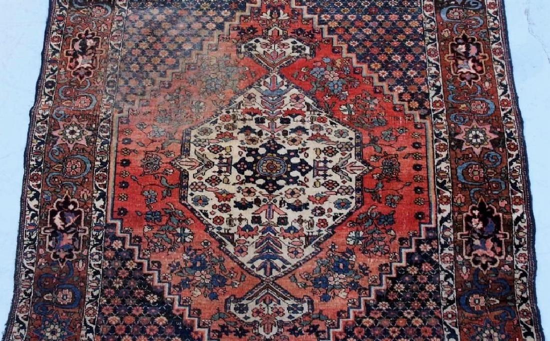 Antique Oriental Persian Geometric Rug - 3