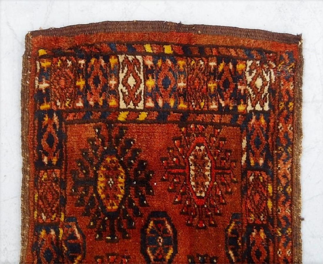 Antique Oriental Persian Esari Torba Wool Rug - 2